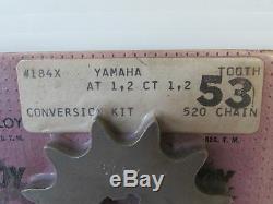 Kit De Conversion De Pignon C. T. Alliage 53t Pour Yamaha À Ct Dt 1 2 3 125 175 (3070)