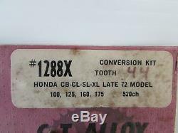 Kit De Conversion De Pignon Honda Cb CL Mt Sl St XL XL 90 100 125 160 175 (2791)