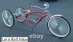 Kit De Conversion Tricycle Noir 5/8 Essieu Hollow Hub Fixe Sprocket Nouveau