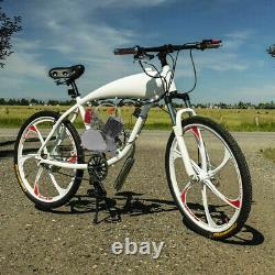 Moteur Motorisé 2 Temps 100cc Moteur Essence Bike Bike Conversion Kit Pedal Start U
