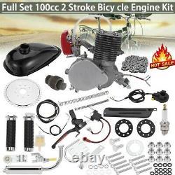 Motorisé 2 Temps 100cc Engine Petrol Bicycle Bike Conversion Kit Uk Store