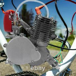 Motorisé 2 Temps 100cc Moteur Essence Vélo Vélo Kit De Conversion Pédale Début