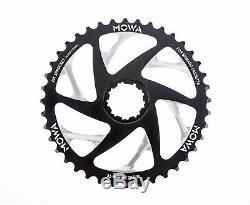 Mowa Vtt 40t Sprocket Vélo Pour La Mise À Niveau Shimano / Sram 10 Vitesses Cassette Noir