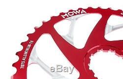 Mowa Vtt 42t Vélo Dentés Pour Shimano / Sram 10 Vitesses Cassette Mise À Niveau Rouge