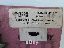 Pignon Kit De Conversion Pour Honda Cb CL Mt Sl St Tl XL 90 100 125 160 175 (57)