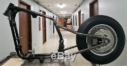 Plein Sur Sportster Hardtail Drag Bike Kit De Conversion Avec Slick, Roue, Disque, Sprocket