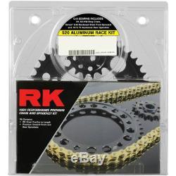 Rk Xso Rx-ring 520 Kit Chaîne / Pignon Race (15/45) Or 3066-118dg